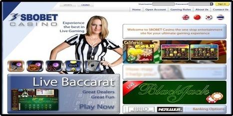 Sejarah Casino Online Sbobet